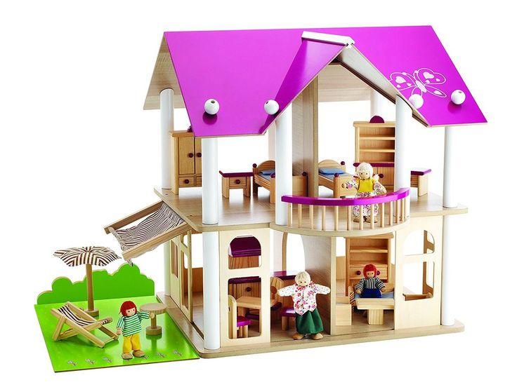Eichhorn Villa Pink Dollhouse