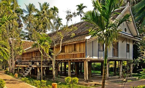 House in Luang Prabang, Laos