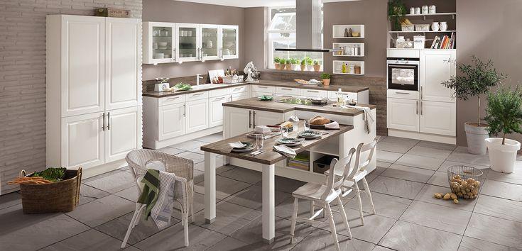 Ihre perfekte Küche: Landhaus mit Insel
