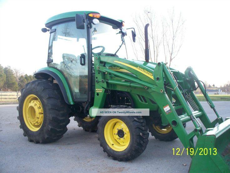 john deere 4 wheel drive tractors   4720 John Deere Cab Tractor 4 Wheel Drive Tractors photo 1