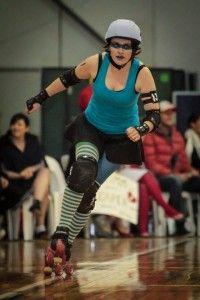 Iodine Lashes.  Skater profiles for Dunedin Derby.