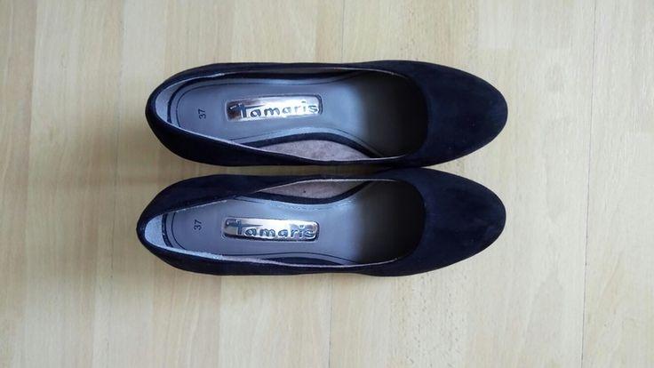 Tamaris schwarze Pumps