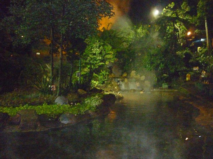 Ciater HotSprings, Bandung, Indonesia.