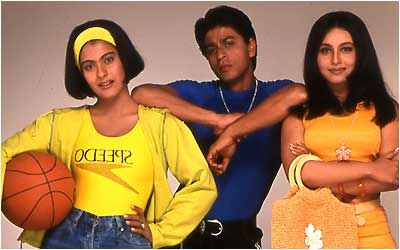 You know you're in love when....Kuch Kuch Hota Hai - Shahrukh, Kajol and Rani