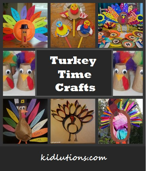 Turkey Time Crafts. #Thanksgiving #Crafts #Art #play #kids All activities can have your own spin put on them for therapeutic purposes!