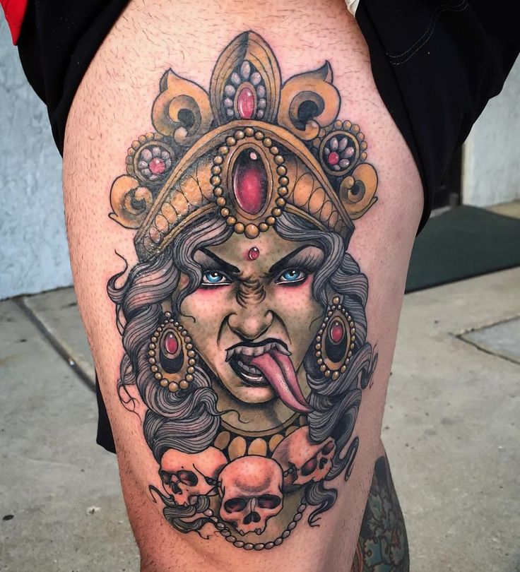 Kali Tattoo http://tattooideas247.com/kali-tattoo-2/
