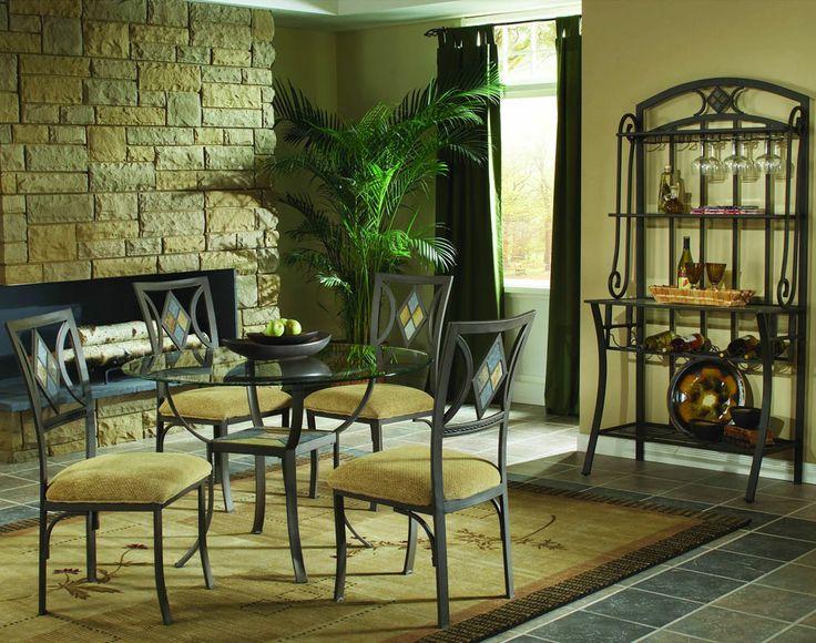luxury contemporary design bakers racks furniture | Furniture > Dining Room furniture > Bakers Rack > Glass Round Bakers ...