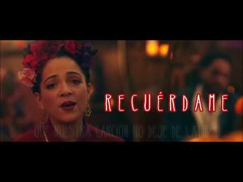 Recuérdame - Coco - Natalia Lafourcade (Solo) - Letra / Lyrics - YouTube