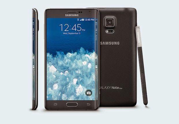 BairesTecno: Nuevo Samsung Galaxy Note Edge curvo