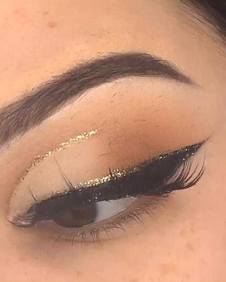 Soft Brown Glam In 2020 Eye Makeup Makeup Tutorial Makeup Eyeliner