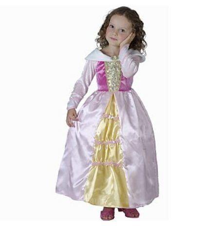 Doornroosje jurk kinderen #doornroosje, #prinses #prinsessenjurk