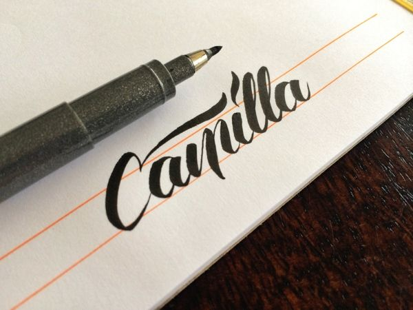 Brush Pen Lettering (+ Videos) by Matt Vergotis