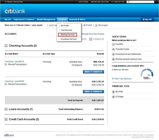 Citibank Transfer Receipt What Will Citibank Transfer Receipt Be Like In The Next 12 Years Banking Services Online Banking Citigroup