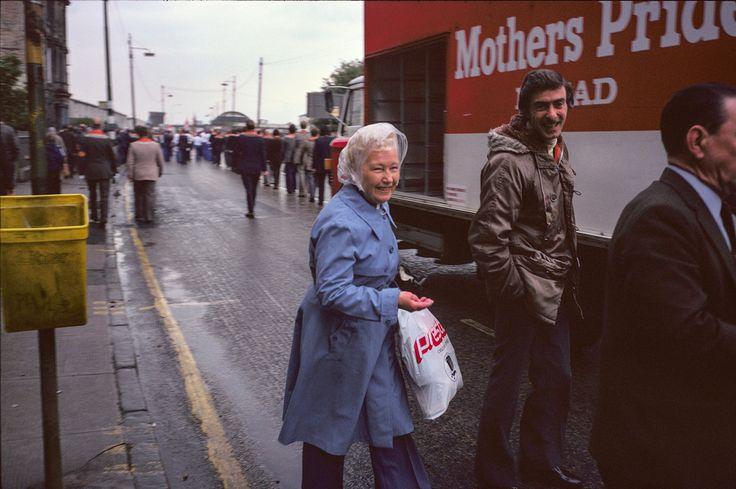 Raymond Depardon. Glasgow, 1980.
