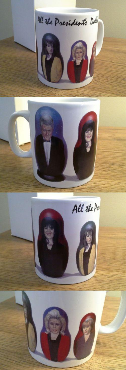 Bill Clinton: Bill Clinton Monica All The President S Dolls Mug Matryoshka Russian Novelty -> BUY IT NOW ONLY: $8 on eBay!