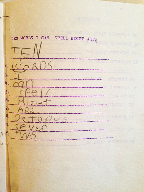 These Kids' Clever Answers On Homework Will Have You Laughing Out Loud