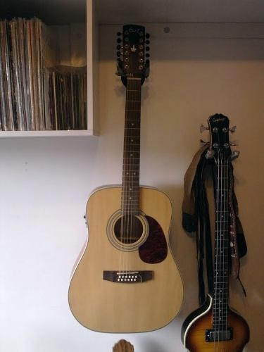 Violão Folk Cort Earth7012e 12 Cordas - R$ 900,00