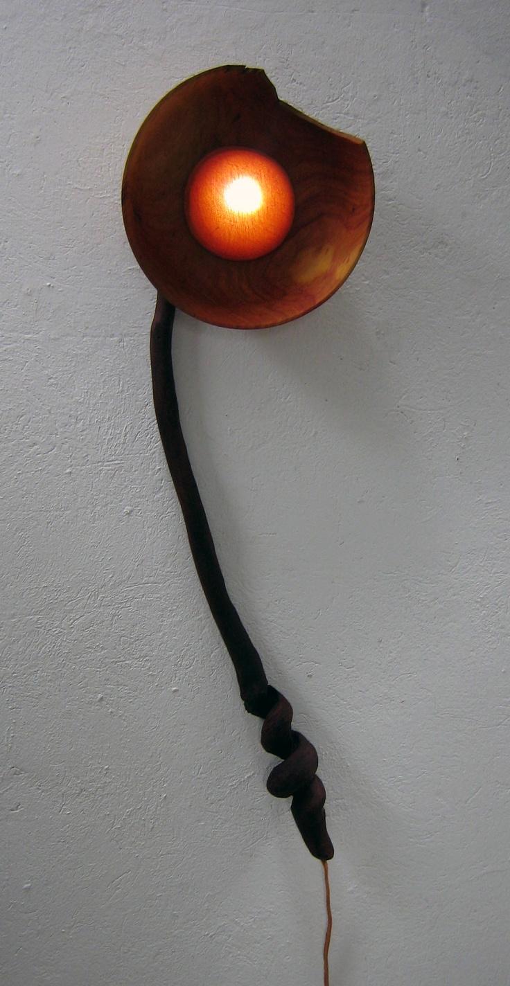 María Bernal Vélez - Flor mascada - Lámpara