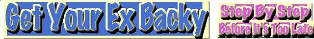 getyourexbacky.com how to get your ex back, get your ex back, ex back advice Do you need some how-to-get-your-ex-back advice? Many people break up and have no idea what to do when they want to get their ex back. Sadly, most people could get their e Awesome thoughts! Have a look at this great dating site I found.