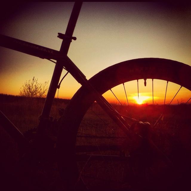 Afan sunset http://decentdescent.co.uk