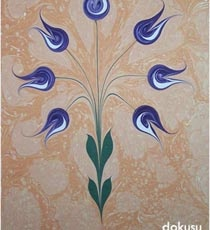 Turkish art of Ebru.