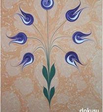 Turkish art technique called Ebru