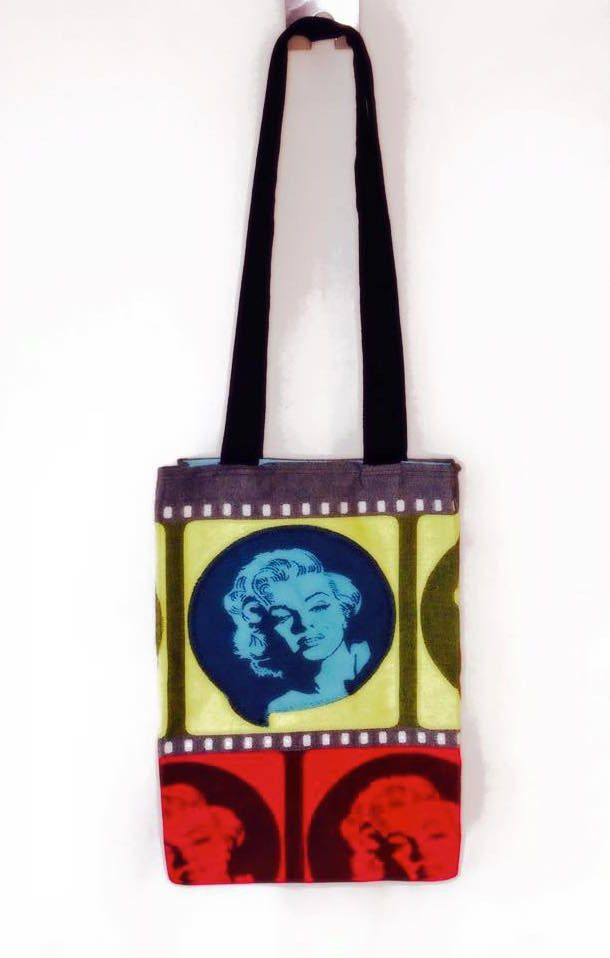 Lenny Lamb Movie Star tote bag Made by TigerPig