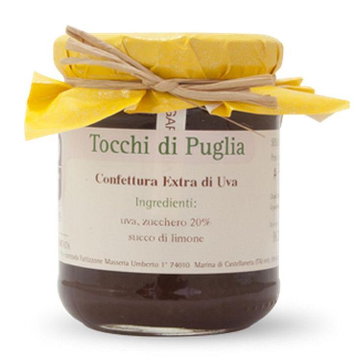 CONFETTURA EXTRA DI UVA GR 260 TOCCHI DI PUGLIA  (070897)