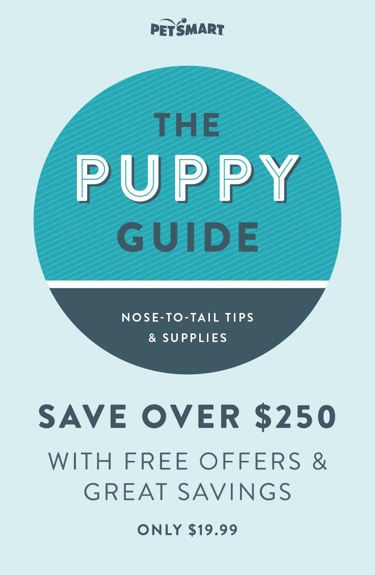 We want to be your partner in all things puppy. The PetSmart Puppy Starter Kit will give you answers to common Puppy Parent issues like nutrition, potty training & chewing.