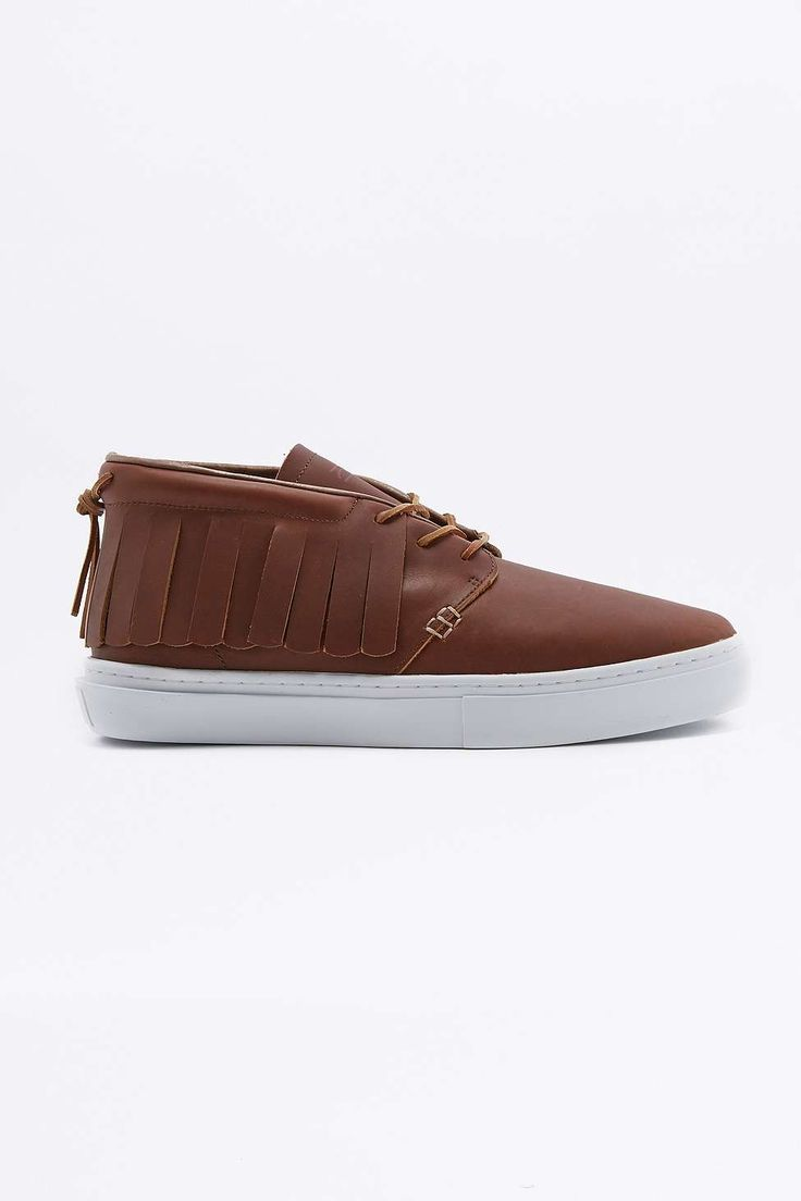 Clear Weather One-O-One Bison Brown Trainers