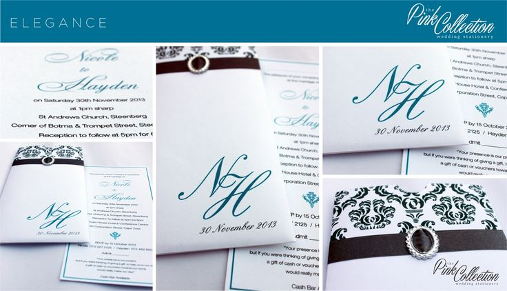 Turquoise and grey on metallic white board with buckle trim. Modern elegance.