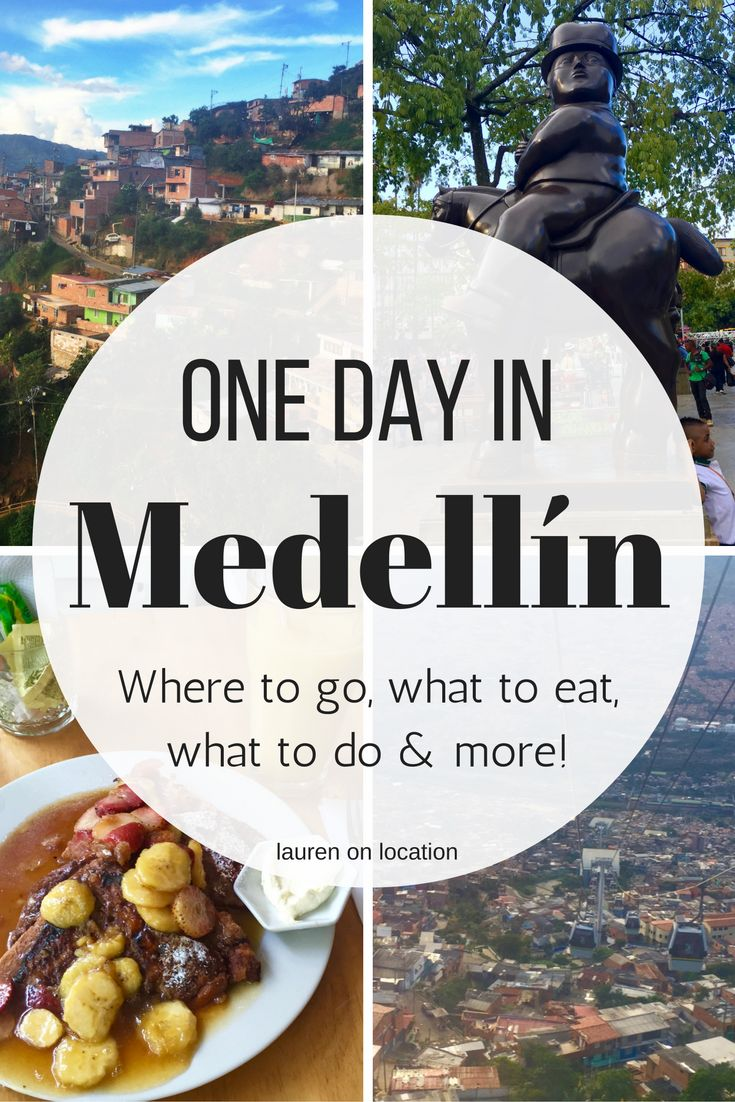 A perfect one day itinerary in Medellín, Colombia! This guide includes where to go, what to eat, what to do and more!