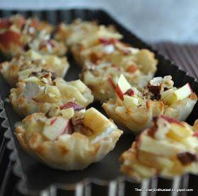 For Rosh Hashana: Honey Apple Brie Bites
