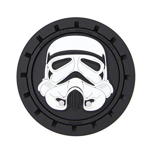 Plasticolor 000665R01 Star Wars Stormtrooper Cup Holder Coaster