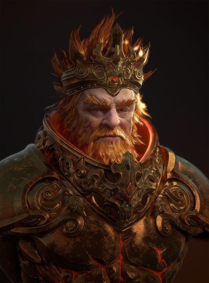 кажущуюся скромность, король воин картинки распространенных