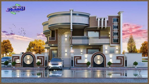 Top 60 Awesome House Design Ideas Engineering Discoveries In 2020 Two Story House Design House Architecture Design Cool House Designs