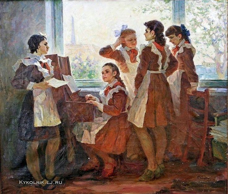«Впечатления дороже знаний...» - Изобразительное искусство СССР. Пионер Страны Советов...4