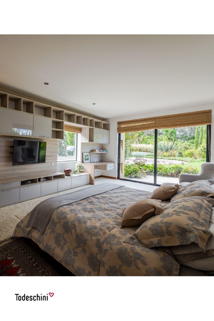 Habitaciones que reflejan nuestra personalidad, un lugar privado que guarda nuestros secretos. Dormitorios modernos y románticos ideales para los recién casados.   #Diseñodeinteriores #Decoración #Todeschini #ambientes #mueblesamedida #arquitectura