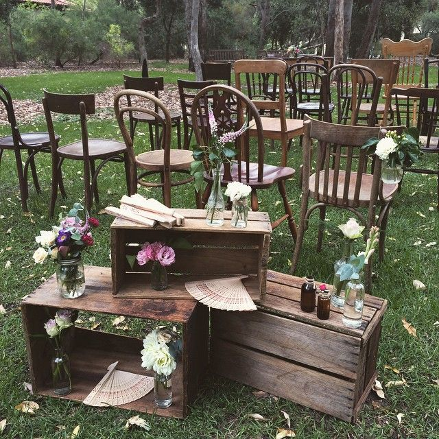 Such a beautiful set up today! Gorgeous furniture and crates by the lovely @prettywillow, flowers and styling by yours truly! #fresh #flowers #weddings #weddingflowers #eventstyling #perth #perthflorist #poppyandwillow #bloomstylist