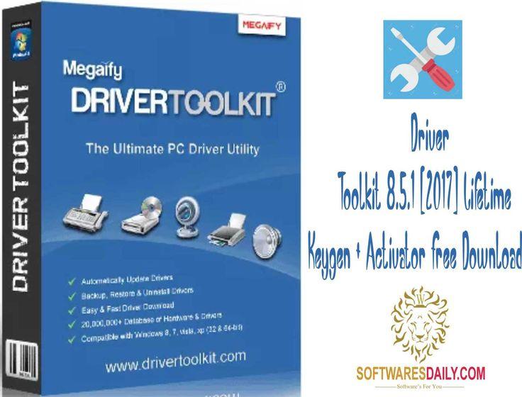 Driver Toolkit 8.5.1 2017 Lifetime Keygen + Activator ...