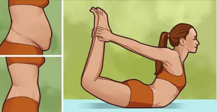 Try These 10 Easy Yoga Poses To Blast Away Stubborn Belly Fat