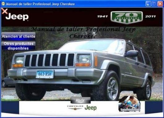manual de taller y reparacion profesional jeep cherokee xj 1984-2001