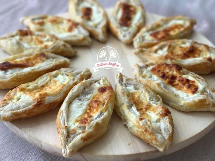 Peynirli Milföy Pide  | Güllerin Tarifleri