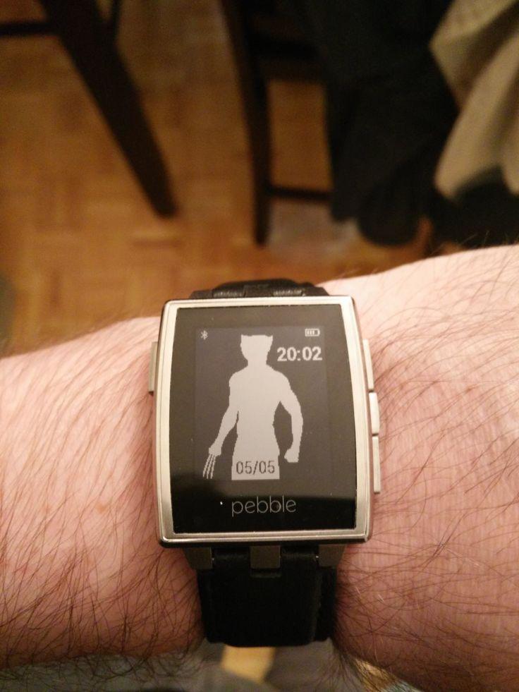 #pebblewatch #wolverine