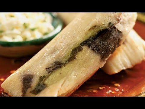 Tamales de calabacita con elote / Receta de tamales