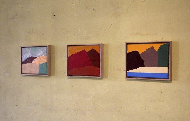 Etel Adnan, 2013. Galleria Continua Les Moulins 2013.