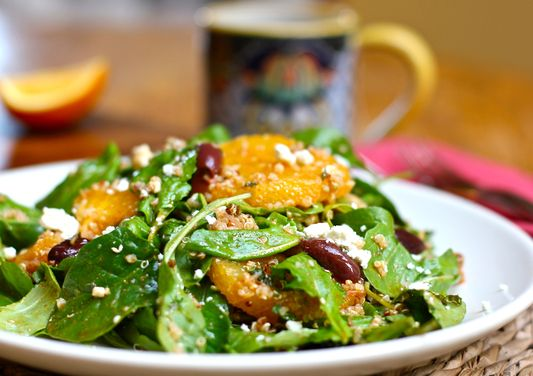 Moroccan orange salad with arugula and quinoa.: Moroccan Orange, Orange Salad, Yummy Food, Quinoa Salad, Beautiful Food, Orange Quinoa, Healthy Recipes, Arugula Salad, Quinoa Recipes
