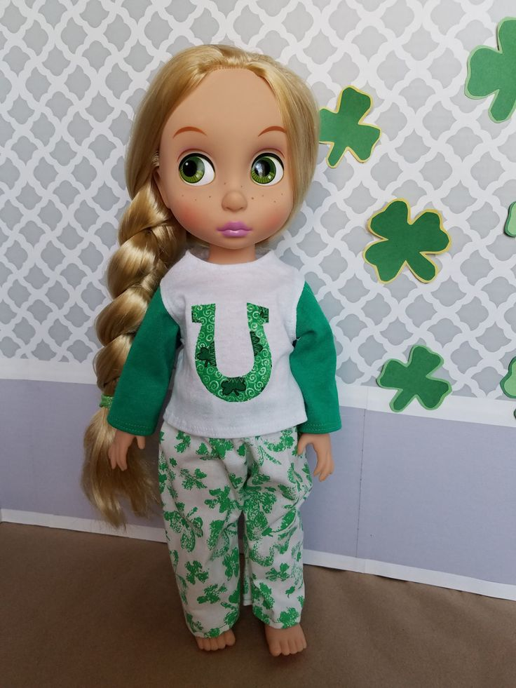 Erin Go Braugh! Cute Pajamas to Celebrate St. Paddy's Day! For Disney Animators! by CreativelyEllie on Etsy