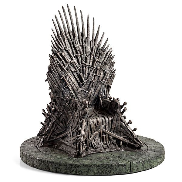 Game of Thrones 1/6 Iron Throne Replica $299.99