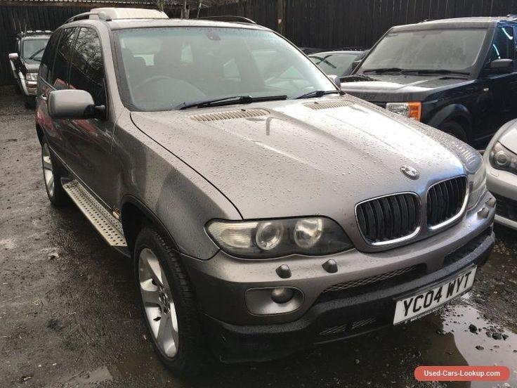 2004 BMW X5 4.4 V8 SPORT LPG NON RUNNER / SPARES OR REPAIR #bmw #x5 #forsale #unitedkingdom